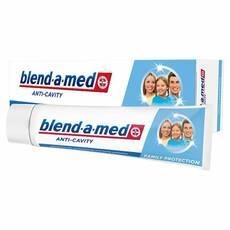 Зубна паста Блендамед анти карієс захист для всієї сім'ї 100 мл Німеччина оригінал