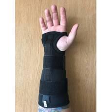 Бандаж на лучезапястный сустав с ребром жесткости медицинский эластичный воздухопроницаемый увеличенн. р. M, L L