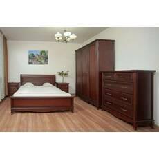 Кровать Венеция с прямым изголовьем купить во Львове
