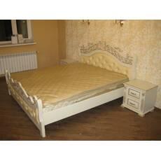 Ліжко Корона з ясена купити в Луцьку