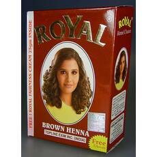 Индийская хна басма Royal натуральная коричневая