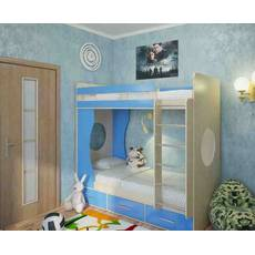 "Кровать двухъярусная ""Орбита"""