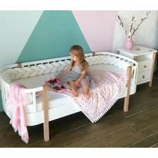 Дитяче ліжечко Скандія з масиву дерева