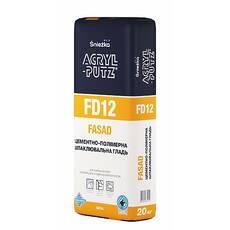 Шпаклівка фасадна ACRYL-PUTZ® FD12 ФАСАД
