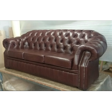 Шкіряний диван Вінзор для кабінету