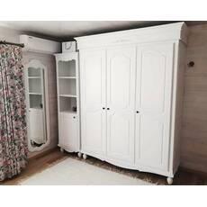 Біла 3х дверна шафа Прованс