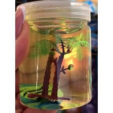 Жвачка для рук с деревьями