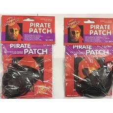 Повязка на глаз пиратская пластиковая