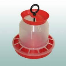 Кормушка для кур бункерная с клапаном 10 кг