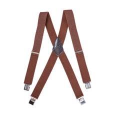 Чоловічі підтяжки Braces хрестові коричневий   (BR1002)