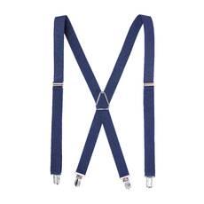 Чоловічі підтяжки Braces хрестові синій   (BR1030)