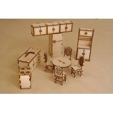 Кукольная мебель, набор -кухня
