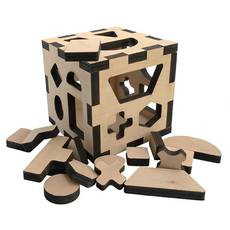 """Сортер-куб """"Тетрис"""""""