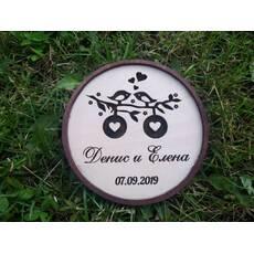 Коробка для весільних кілець, Утримувач весільних колец