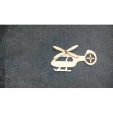 Вертолёт - заготовка из фанеры для бизиборд