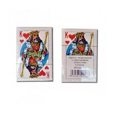 Карти гральні Король 54шт