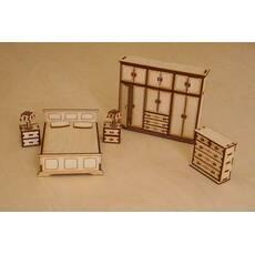 Меблі для лялькового будиночка, набор-гостинная.