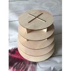Стойка- підставка 5 ярусів для макарун, каптейков, кексів, закусок і десертів.