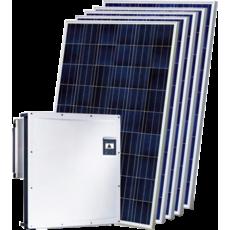 Сетевая солнечная электростанция 30 кВт на СБ AEG AS-P728-335