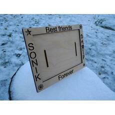 Рамка для фотографии из дерева