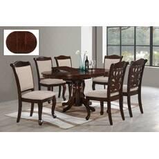 Стол со стульями МО-1 из массива дерева для гостиной
