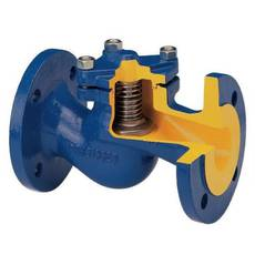 NEP Клапан зворотний підпружинений, Py16, Ду40