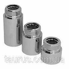 """Подовжувачі 1/2 хром від 10 до 100 мм Різьбове з'єднання внутр. 1/2"""" - зовнішня 1/2"""""""
