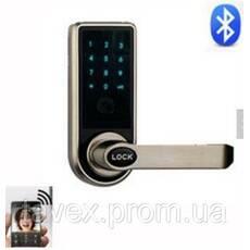 Замок электронный с доступом по Bluetooth коду или по кодовой клавиатуре