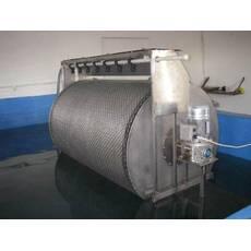 Механический барабанный самопромывной фильтр 100 м3/час
