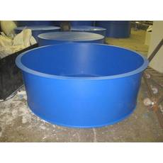 Басейн круглий для риборозведення об'ємом 3,2 м3, поліпропілен