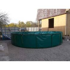 Бассейн круглый для рыборазведения объёмом 12,6 м3 ПВХ, каркасный, разборной