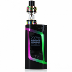 Стартовий набір Smok Alien 220w Kit Black/Rainbow