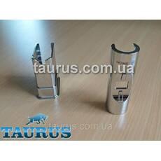 Маскувальний комплект, хром з накладкою О-формы   трубка   фланець  для електричного Тэна Heatpol H, Польща