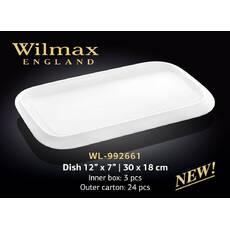 Блюдо Wilmax прямоугольное 3018 см WL - 992661