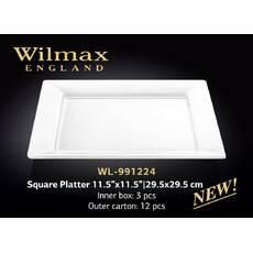 Блюдо Wilmax квадратное 29,5см WL - 991224