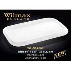 Блюдо Wilmax прямоугольное 3622 см WL - 992662