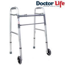 Ходунки доладні з колесами Dr.Life 10184sl/W
