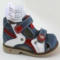 Детские ортопедические туфли для мальчиков Mimy арт.F 017, мод.52-30-03, (Турция)