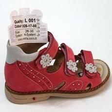 Детские ортопедические босоножки для девочек Mimy арт.L 001, мод.025-17-00, (Турция)