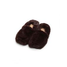 Тапки-грелки коричневые Intelex