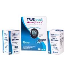 Глюкометр TRUEresult twist Nipro + 100 шт тест-полосок