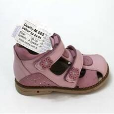 Детские ортопедические туфли для девочек Mimy арт.M 005, мод. 24-04-04, (Турция)