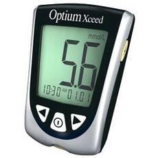 Акційний набір Глюкометр Optium Xceed (Оптиум эксид™ )    25 тест-полосок (ABBOTT, США)