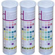 Тест-полоски URISCAN для дослідження сечі U41 GEN 11*  (кров, білірубін, уробіліноген, кетон, білок, рН, нітрит, глюкоза, щільність, лейкоцити, аскорбінова кислота), 100 шт.
