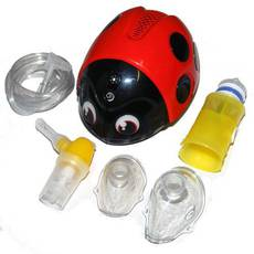Детский компрессорный ингалятор ЛЕЛЛА (Lella) + ирригатор полости носа Flaem Nuova, (Италия)