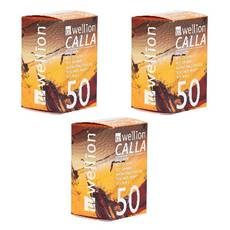 Тест-полоски Wellion Calla Light №50 - 3 уп. Оптовий комплект!