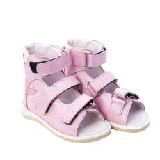 Дитячі ортопедичні босоніжки Ortofoot мод. 120 для дівчаток, без викладення зведення