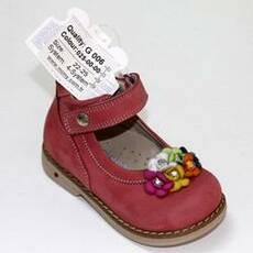 Дитячі ортопедичні туфлі для дівчаток Mimy арт.G 006, мод.025-00-00, (Туреччина)