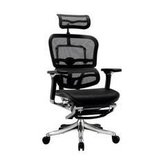 Крісло ергономічне комп'ютерне ERGOHUMAN PLUS COMFORT SEATING c підставкою для ніг