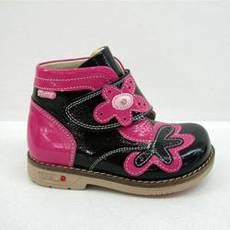 Детские ортопедические ботиночки для девочек Mimy арт.516, мод.72-76-00, (Турция)